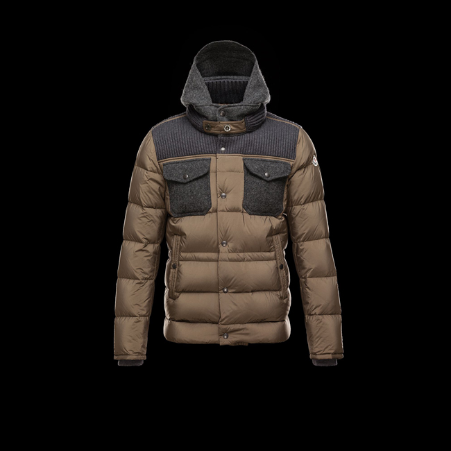 2016 Outlet Store - MONCLER MEN LEBLOND KHAKI