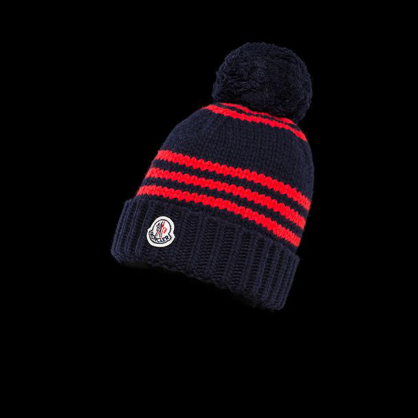 cheap MONCLER ENFANT Child HAT dark blue sale