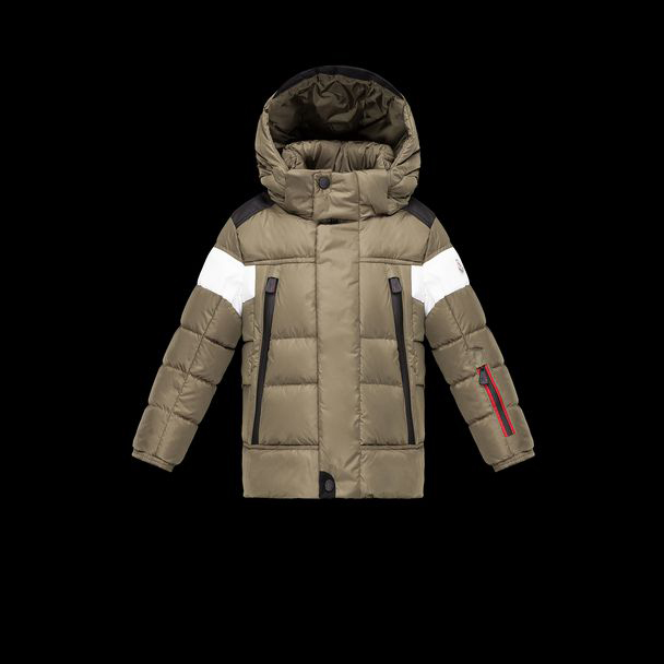 cheap MONCLER ENFANT Child VERDAGUER military green sale