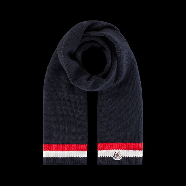 cheap MONCLER ENFANT Child SCARF black sale