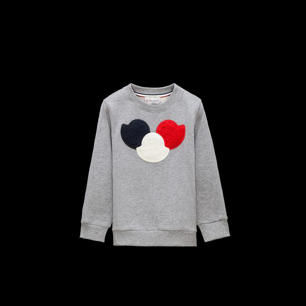 cheap MONCLER ENFANT Child SWEATSHIRT grey sale