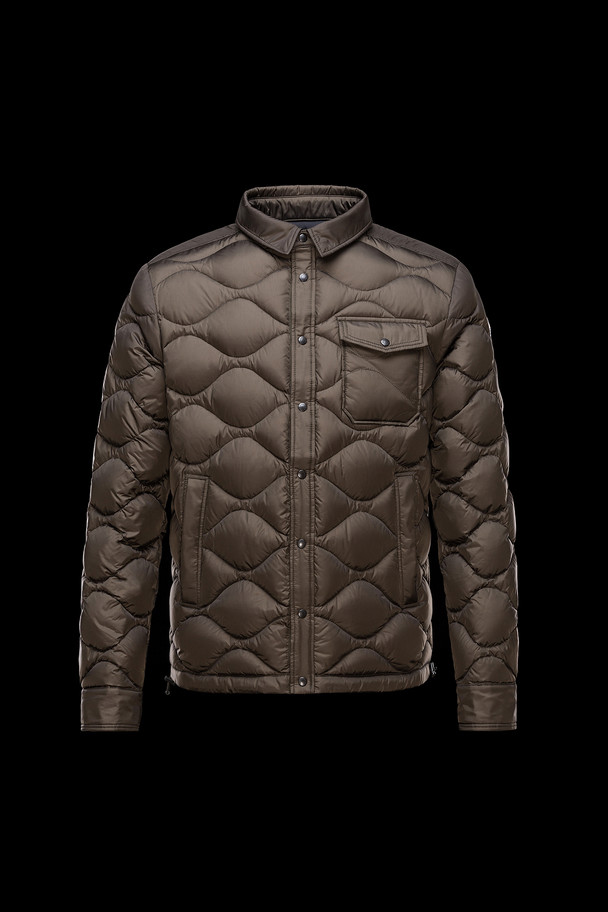 cheap MONCLER Men NAMBOUR dark green sale