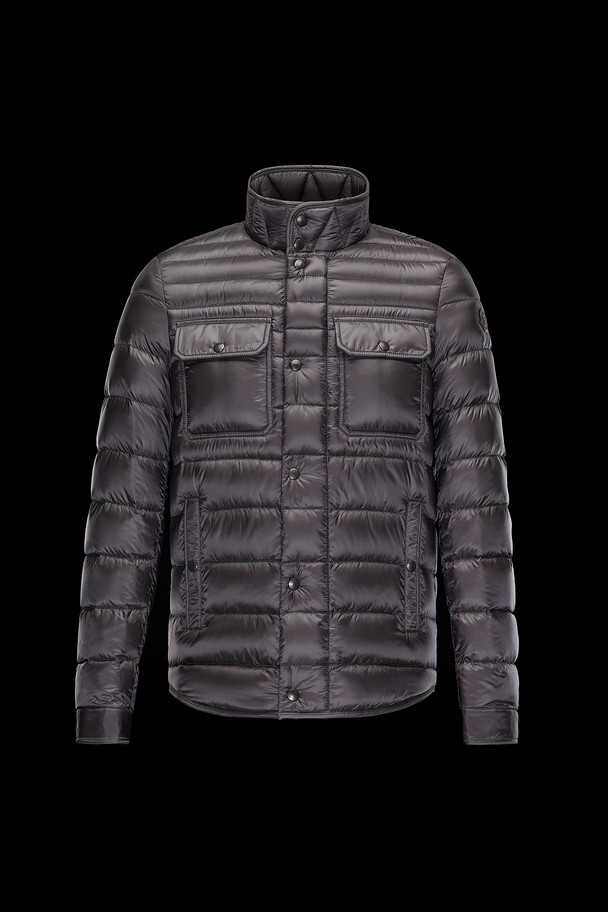 cheap MONCLER Men FORBIN steel grey sale