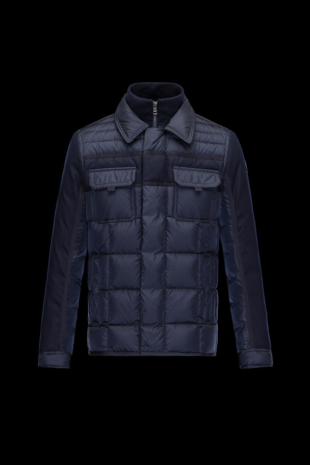 cheap MONCLER Men BLAIS dark blue sale
