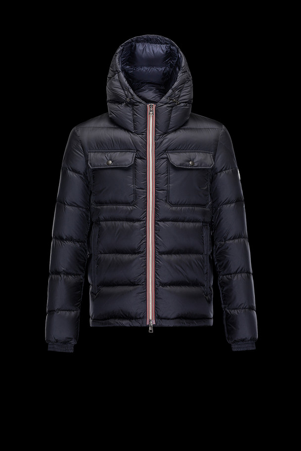 cheap MONCLER Men MORANE dark blue sale
