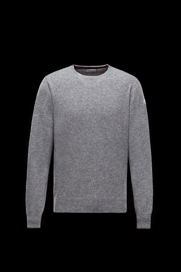 cheap MONCLER Men CREWNECK grey sale