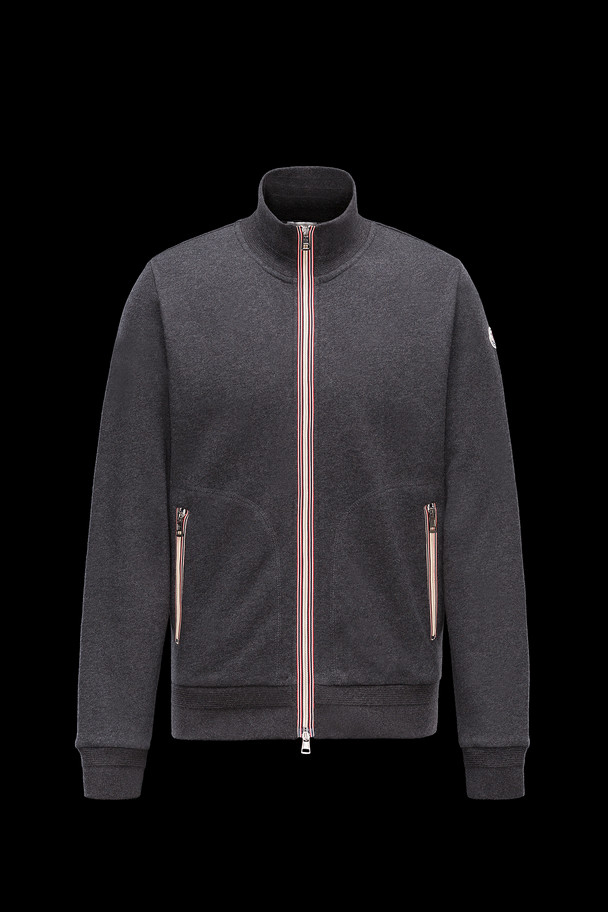 cheap MONCLER Men SWEATSHIRT steel grey sale