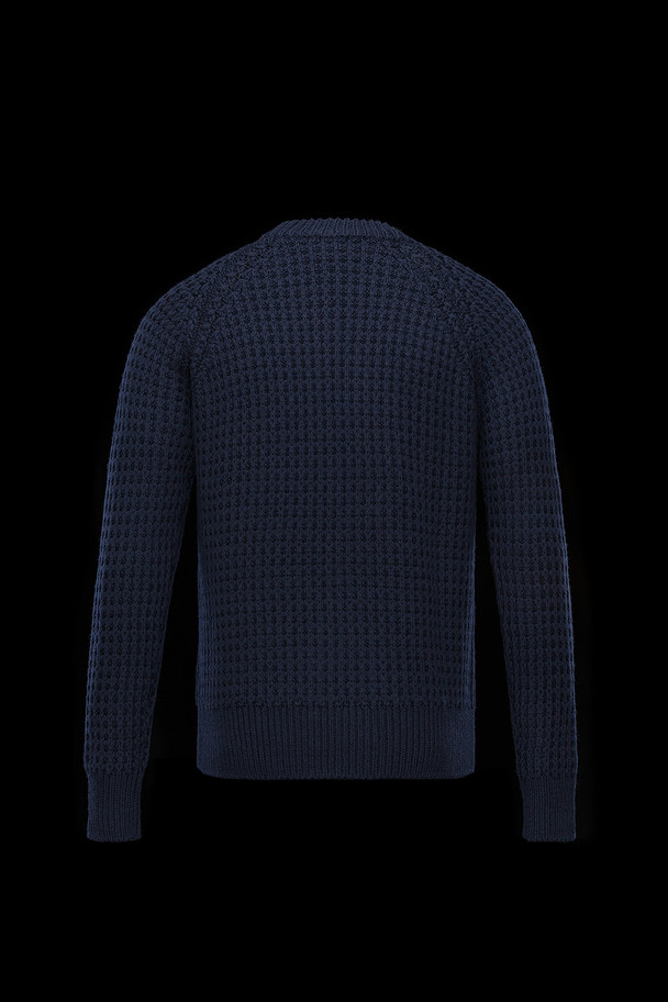 cheap MONCLER GRENOBLE Men CREWNECK dark blue sale