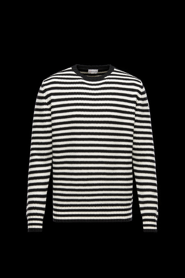 cheap MONCLER Men CREWNECK  black sale