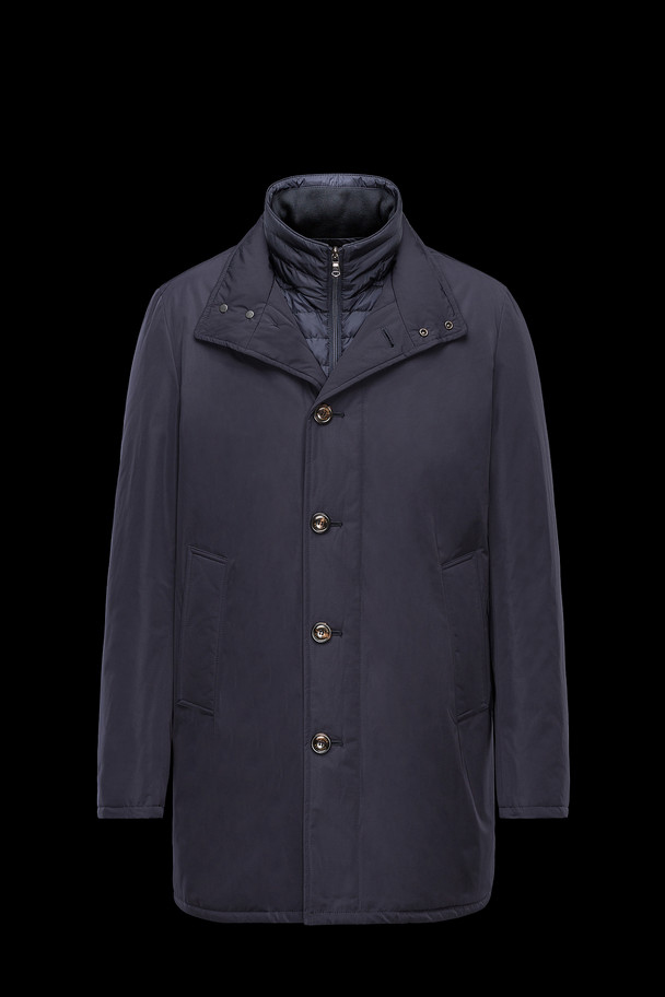 cheap MONCLER Men FUSAIN  dark blue sale
