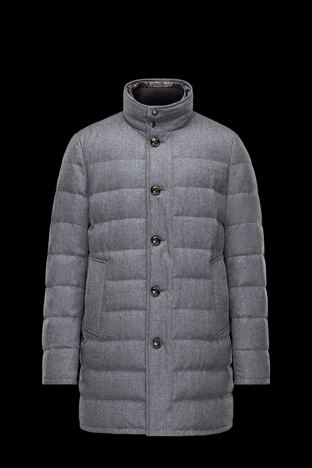 cheap MONCLER Men VALLIER grey sale