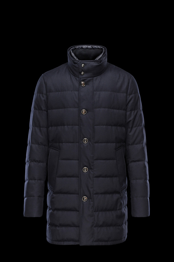 cheap MONCLER Men VALLIER dark blue sale