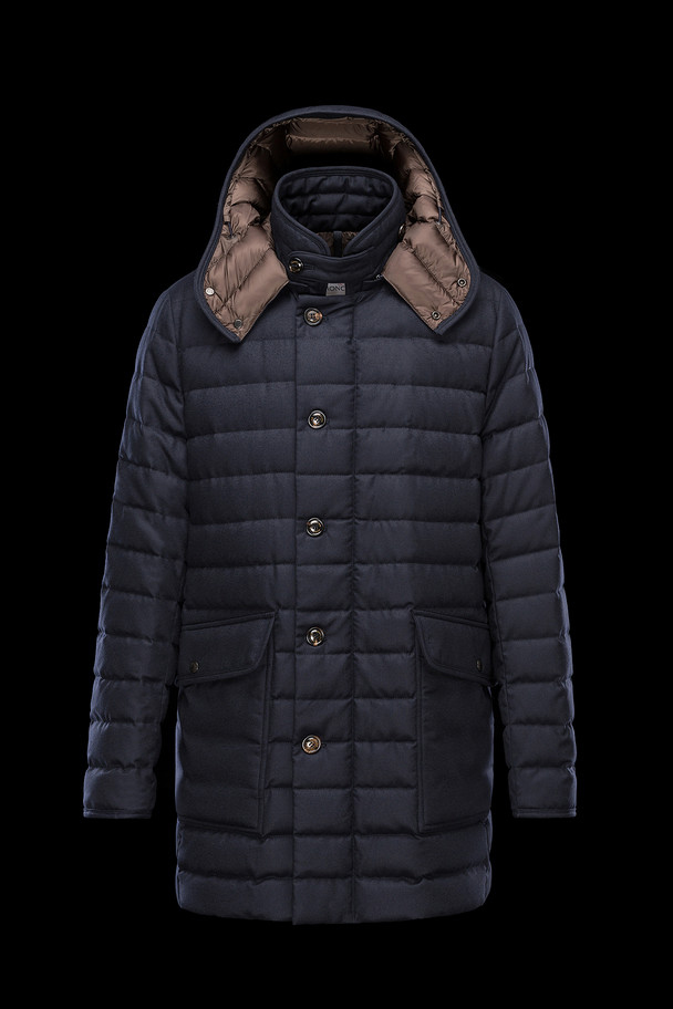 cheap MONCLER Men COPERNIC dark blue sale