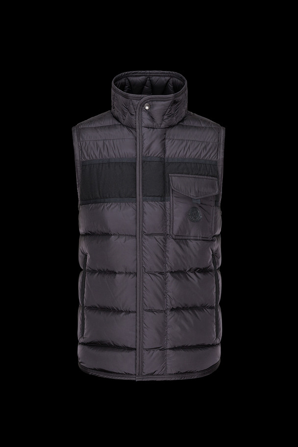 cheap MONCLER Men ATHOS black sale