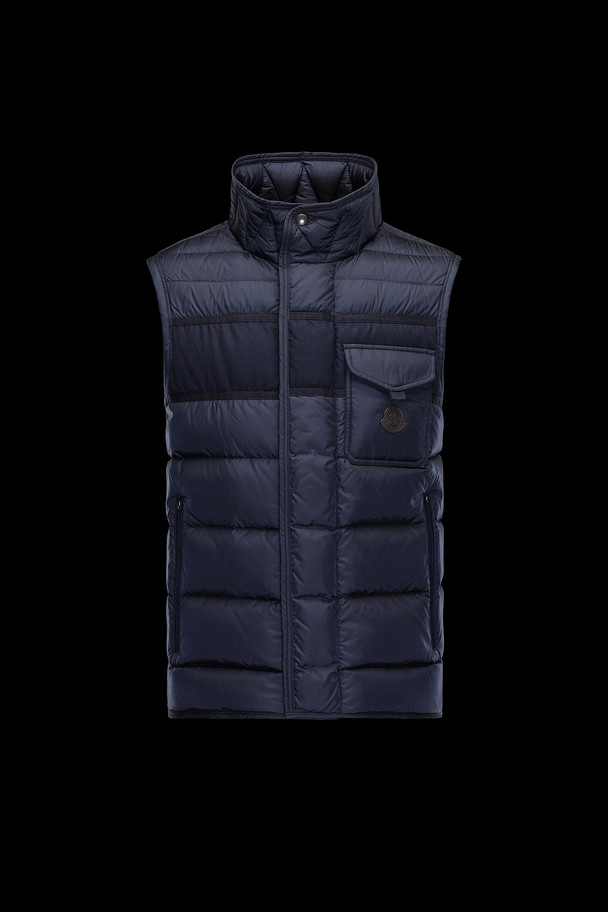 cheap MONCLER Men ATHOS dark blue sale