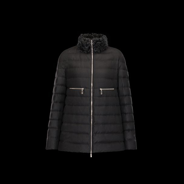 cheap MONCLER GAMME ROUGE Women ARNICA black sale