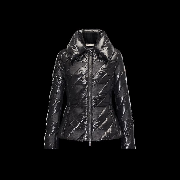 cheap MONCLER GRENOBLE Women QUEYRAS black sale