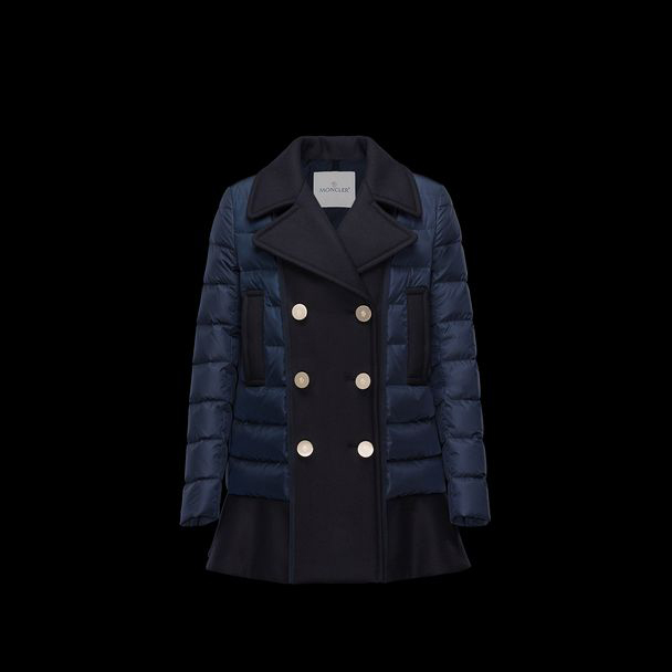 cheap MONCLER Women AULAMPIA dark blue sale