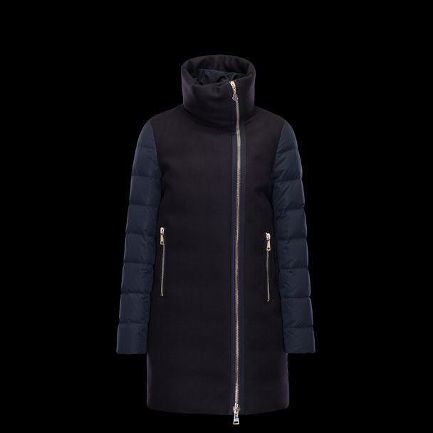 cheap MONCLER Women AGLAIA dark blue sale