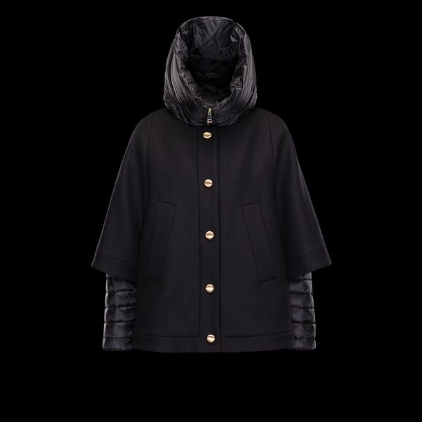 cheap MONCLER Women EUDORE black sale