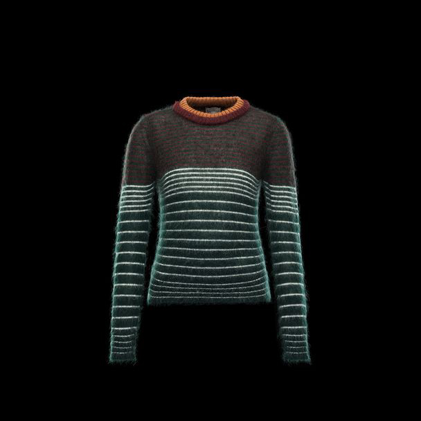 cheap MONCLER Women crewneck green sale