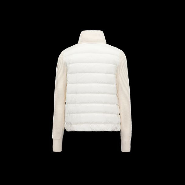 cheap MONCLER Women CARDIGAN white sale