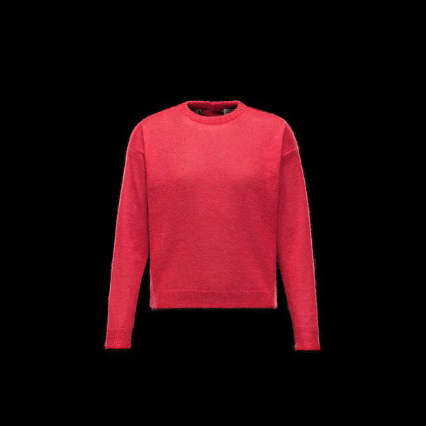 cheap MONCLER Women crewneck red sale