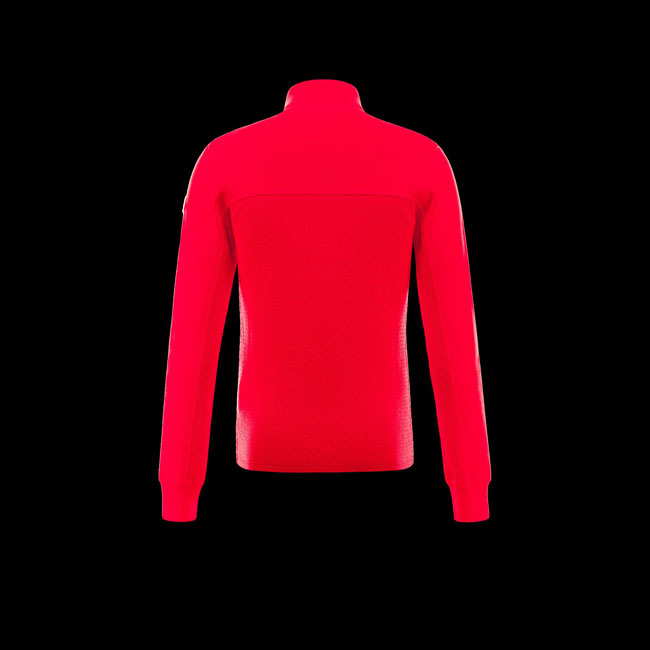 2016 Outlet Store - MONCLER MEN R Cardigan RED