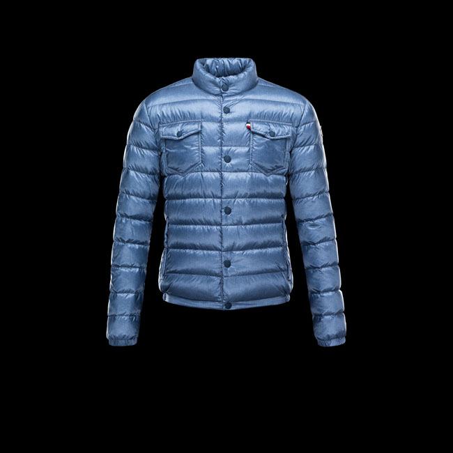 2016 Outlet Store - MONCLER MEN GRENOBLE AVRANCHES SLATE BLUE