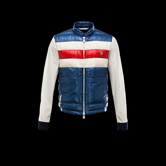 2016 Outlet Store - MONCLER MEN GRENOBLE PORTBLANC SLATE BLUE