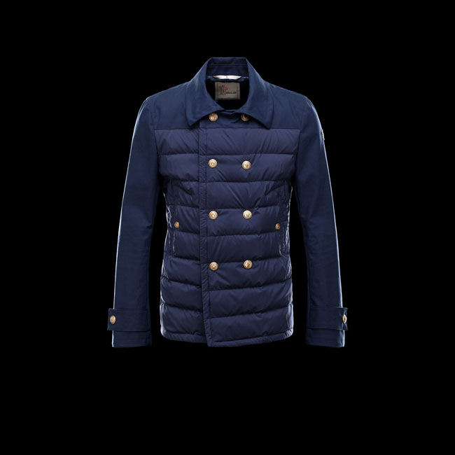 2016 Outlet Store - MONCLER MEN GRENOBLE ALENCON BLUE