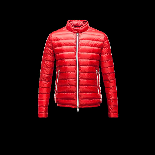 2016 Outlet Store - MONCLER MEN RIGEL RED