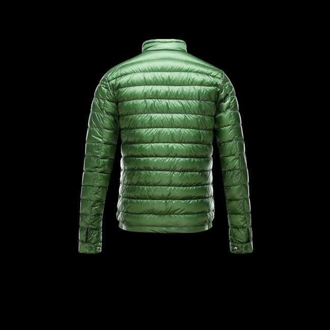 2016 Outlet Store - MONCLER MEN RIGEL GREEN