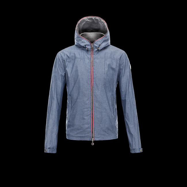 2016 Outlet Store - MONCLER MEN URVILLE AZURE