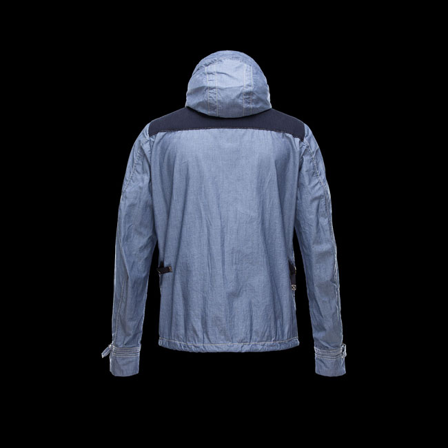 2016 Outlet Store - MONCLER MEN BERGER BLUE