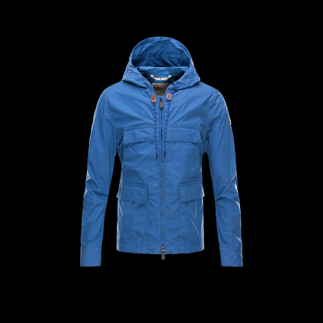 2016 Outlet Store - MONCLER MEN LEGOUFRE BRIGHT BLUE