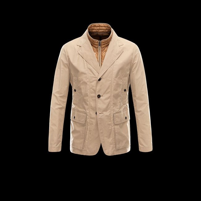 2016 Outlet Store - MONCLER MEN CLAUDEL BEIGE