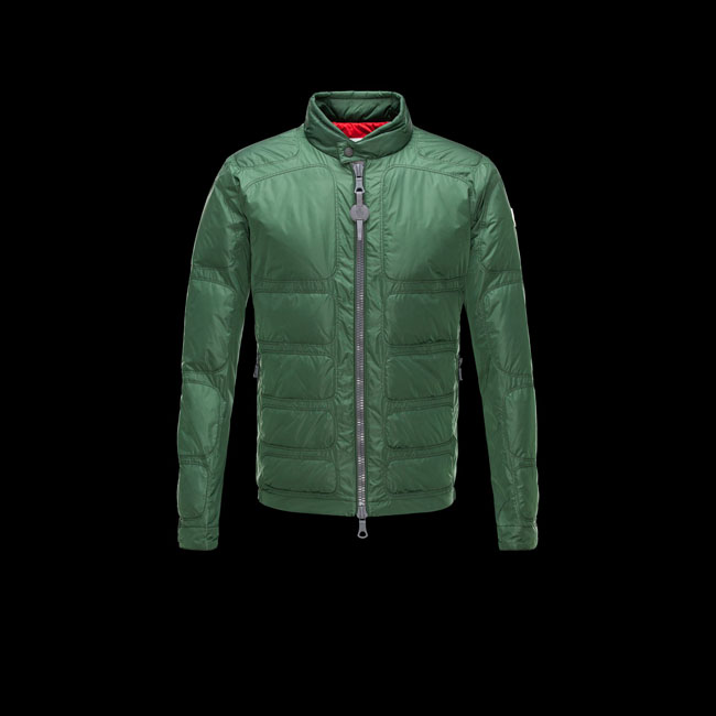 2016 Outlet Store - MONCLER MEN R CHERITON GREEN