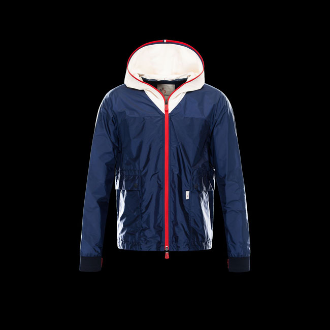 2016 Outlet Store - MONCLER MEN GRENOBLE FONTAINEBLEAU BLUE