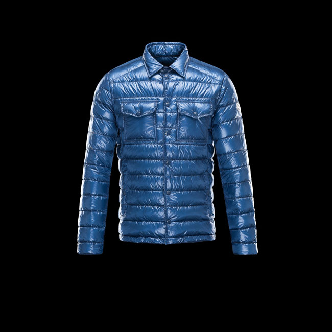 2016 Outlet Store - MONCLER MEN GREGOIRE BLUE