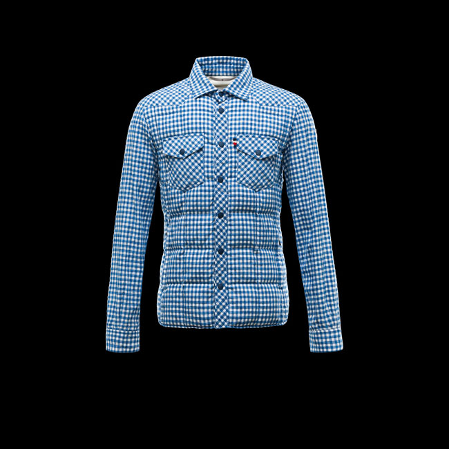 2016 Outlet Store - MONCLER MEN GRENOBLE BREM AZURE