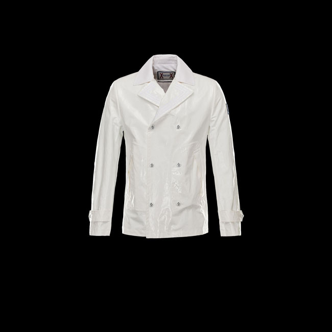 2016 Outlet Store - MONCLER MEN GAMME BLEU Jacket WHITE