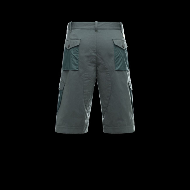 2016 Outlet Store - MONCLER MEN Bermuda DEEP JADE
