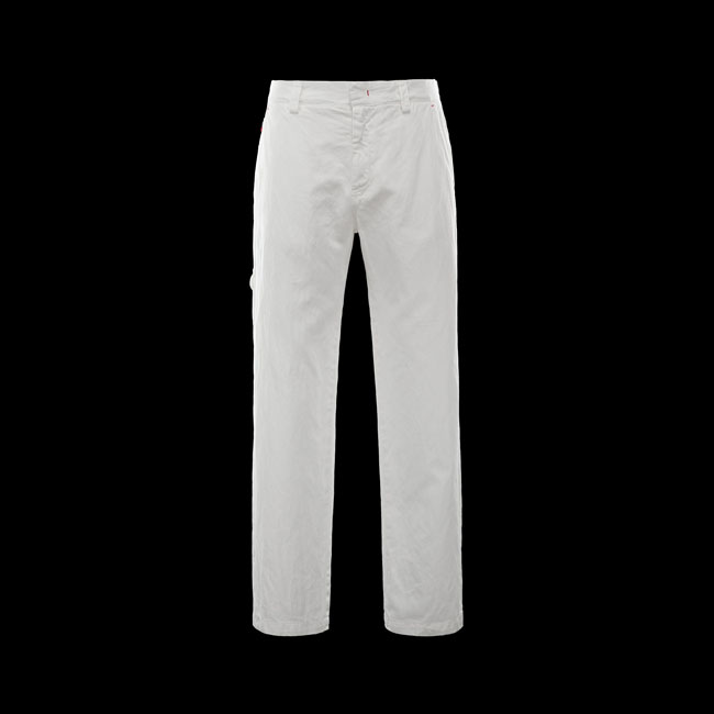 2016 Outlet Store - MONCLER MEN Casual pants WHITE