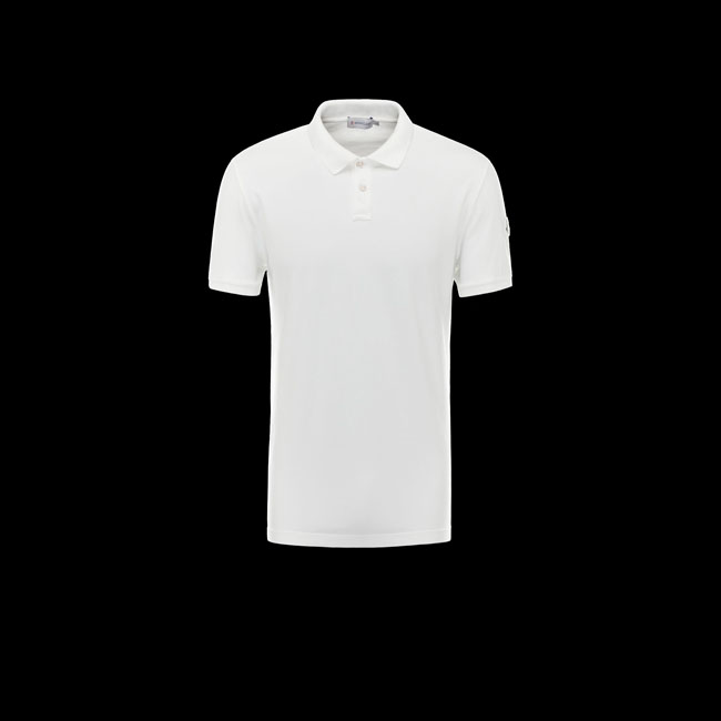 2016 Outlet Store - MONCLER MEN Polo sweater WHITE