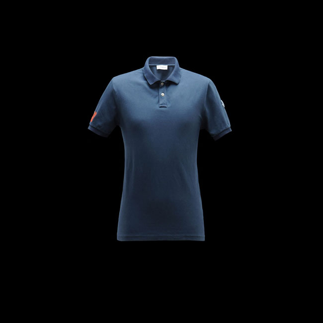 2016 Outlet Store - MONCLER MEN Polo sweater SLATE BLUE