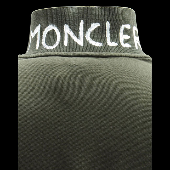 2016 Outlet Store - MONCLER MEN Polo sweater MILITARY GREEN