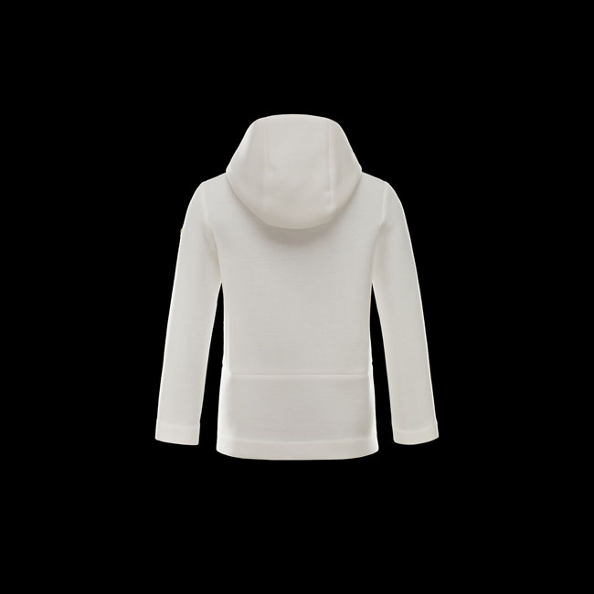 2016 Outlet Store - MONCLER WOMEN GRENOBLE Cardigan WHITE