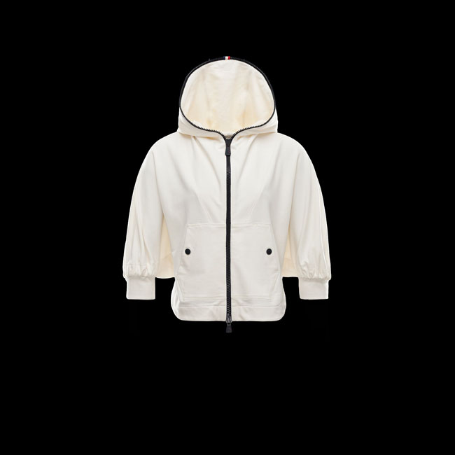 2016 Outlet Store - MONCLER WOMEN GRENOBLE Cardigan IVORY