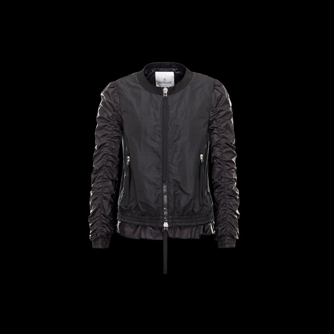 2016 Outlet Store - MONCLER WOMEN HANA BLACK